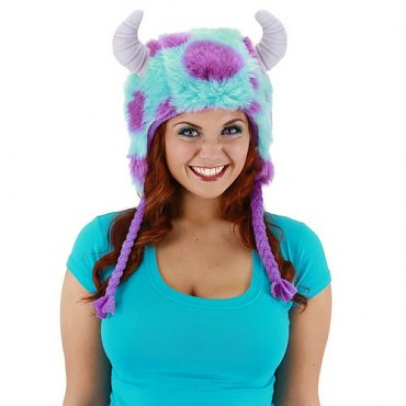 Monsters University Sulley Hoodie Hat