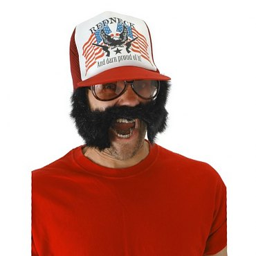 Trash \'Stache Trucker Hat