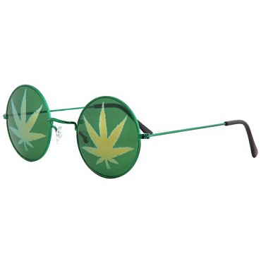 Pot Leaf Glasses