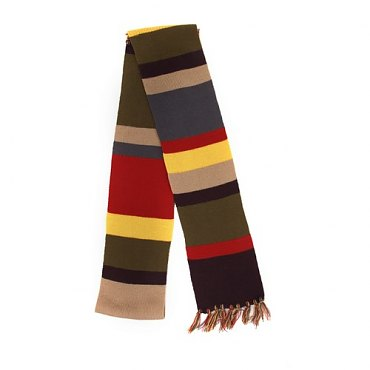 Doctor Who The 4th Doctor Scarf