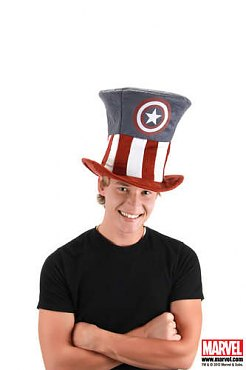 Captain America Mad Hatter Hat