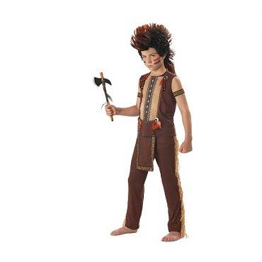 Child Indian Warrior Costume