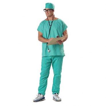 Deluxe Doctor Scrubs Costume