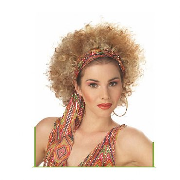 Ghetto Fab Blonde/Brown Afro Wig
