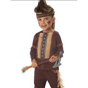Toddler Lil Warrior Indian Costume