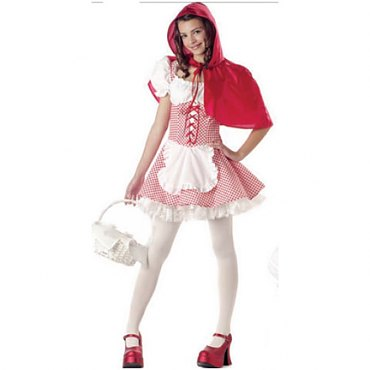 Miss Red Riding Hood Teen Costume