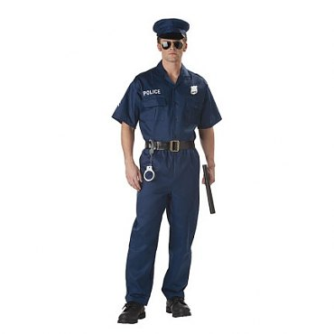 Police Jumpsuit Costume