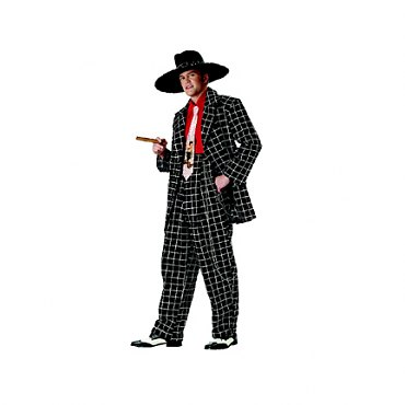 Zoot Suit Costume - Black & White