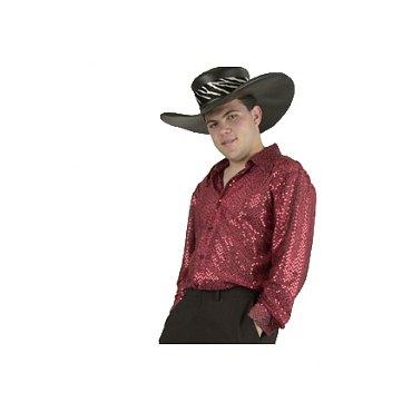 Black Sequin Mac Daddy Shirt
