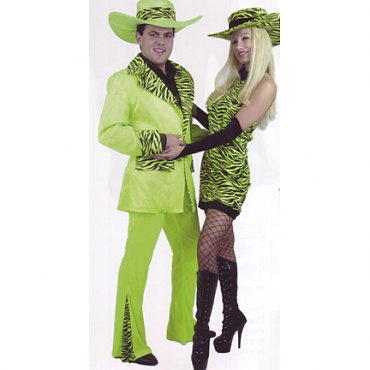 Lime Mac Daddy Suit Costume