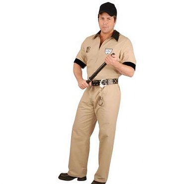 Mens Department of Corrections Costume