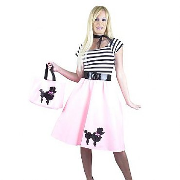 Pink Poodle Dress Costume