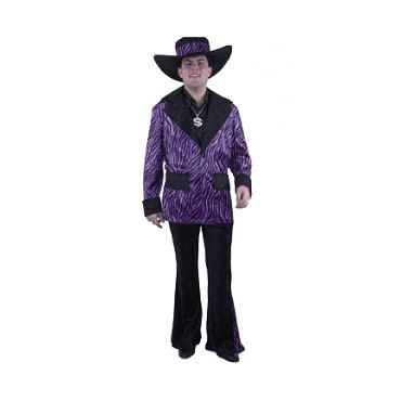 Purple Mac Daddy Suit Costume