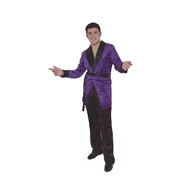 Purple Smoking Jacket