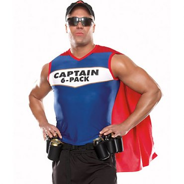 Captain Six Pack Costume