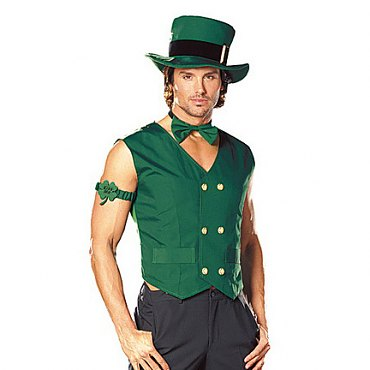 Get Lucky Mens Leprechaun Costume