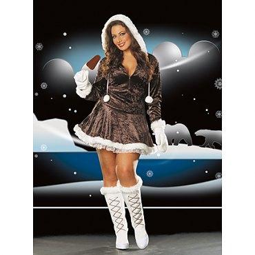 Plus Size Eskimo Cutie Costume