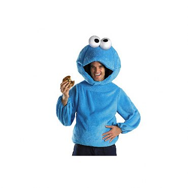 Sesame Street Cookie Monster Adult Costume