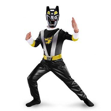 Power Ranger Black Ranger Classic Child Costume