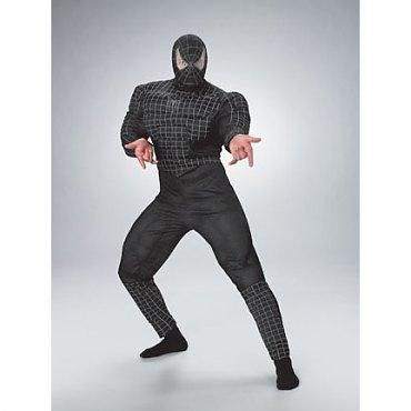 Black Suited Spiderman Costume