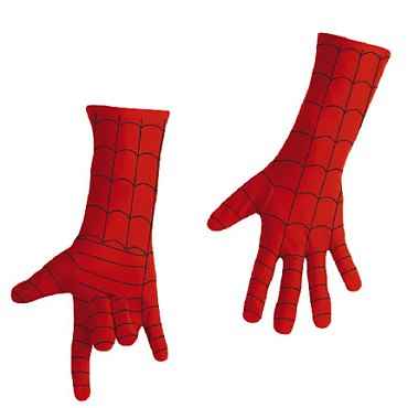Deluxe Spiderman Child Gloves