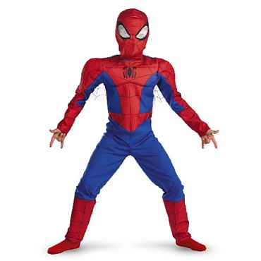 Childs Spectacular Spiderman Classic Muscle