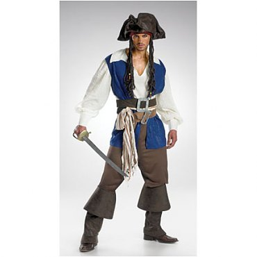Deluxe Captain Jack Sparrow Costume