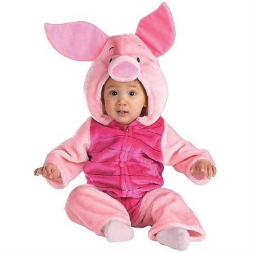 Baby Piglet Plush Infant/Toddler Costume