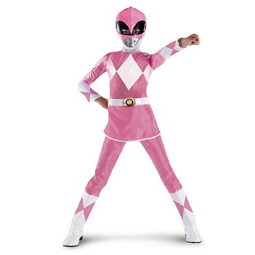 Power Rangers Pink Ranger Deluxe Child Costume