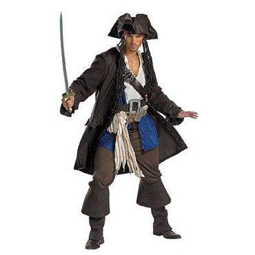 Prestige Premium Captain Jack Sparrow Costume