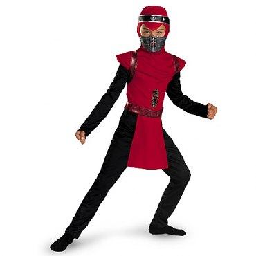 Childs Red Viper Ninja Costume