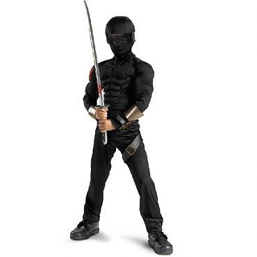 G.I. Joe Snake Eyes Classic Muscle Child Costume