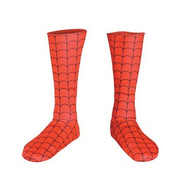 Deluxe Spiderman Child Boot Covers