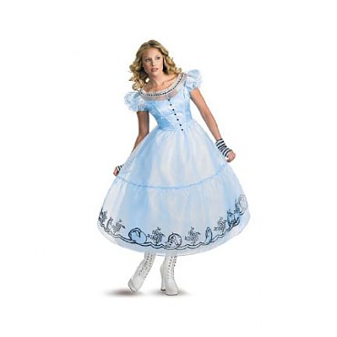 Tim Burtons Alice in Wonderland Costume