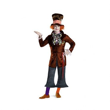 Tim Burtons Alice in Wonderland Mad Hatter Costume