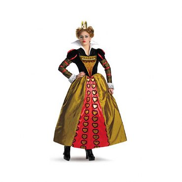 Tim Burtons Alice in Wonderland Red Queen Costume