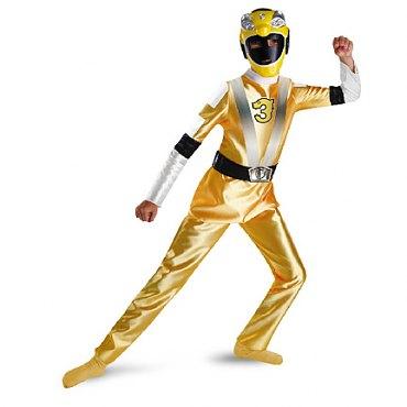 Power Ranger Yellow Ranger Deluxe Child Costume