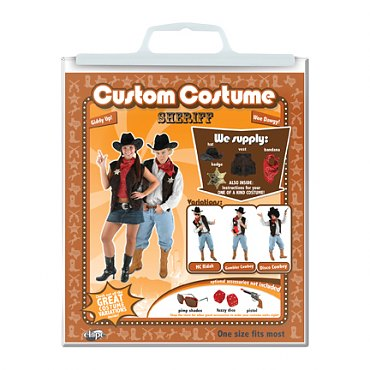 Sheriff Costume Kit