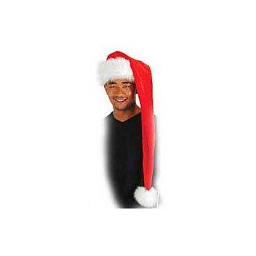 Plush Long Santa Hat