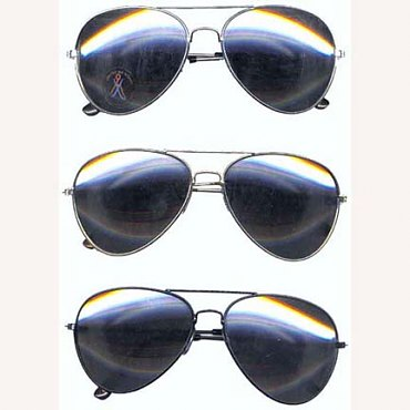 Aviator Glasses (Mirror Lens)