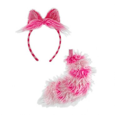 Disney Cheshire Cat Ear/Tail Costume Kit