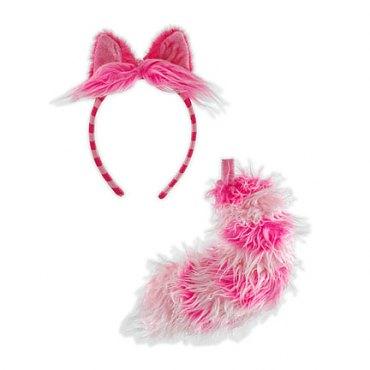 Disney Cheshire Cat Ear/Tail Costume Kit