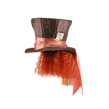 Disney Mad Hatter Hat with Hair