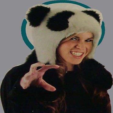 Panda Bear Hug Hat