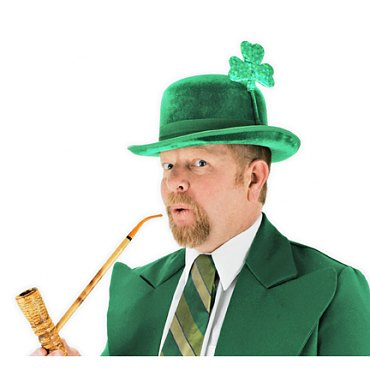 St. Patricks Day Bowler