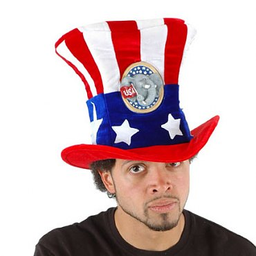 USA Uncle Sam Hat Republican
