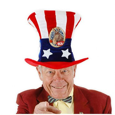 USA Uncle Sam Hat Democrat