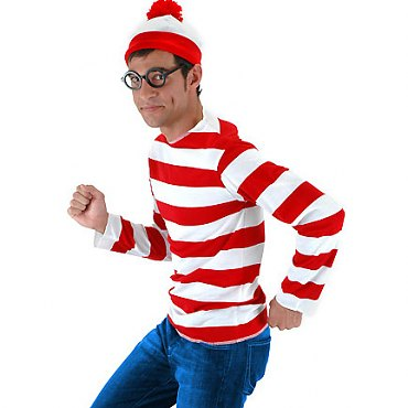 Wheres Waldo Costume Kit