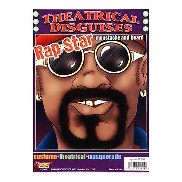 Moustache & Beard Set - Rap Star