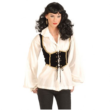 Velvet Pirate Vest Female
